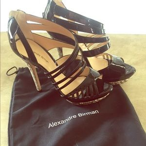 AlexandreBirman Python patent leather